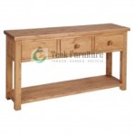 Console 1 Drw Whit Shelf